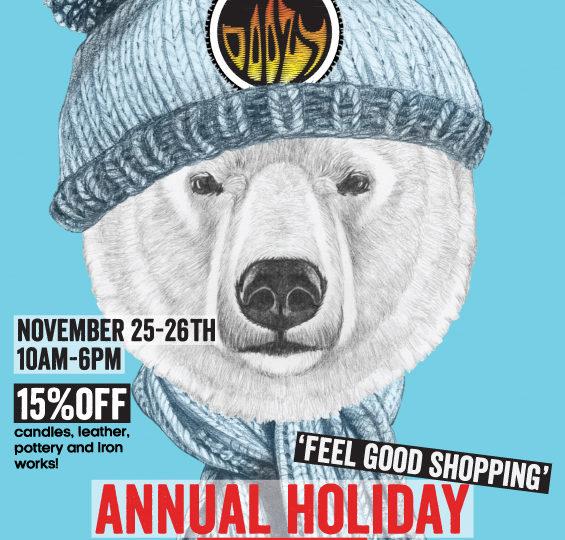 Holiday Sale! November 25, 26