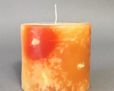 Spiced Manderine Scent – MINI size candle – burns 50 hours