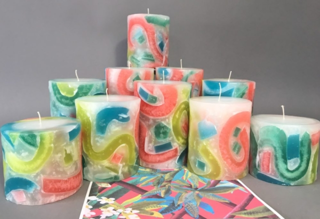 candles, bougies, custom made candle, custom made candles, special candles,