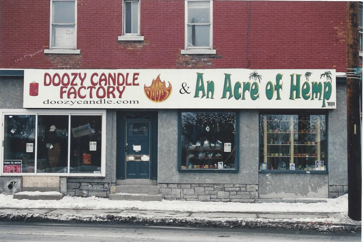 history, scented candles, bougies,ottawa, ontario, hemp