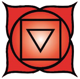 Root chakra symbol: click to view information about the Root chakra