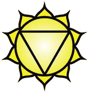 Solar Plexus chakra symbol: click to view information about the Solar Plexus chakra